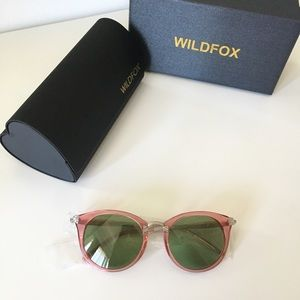 Pink Wildfox Sunglasses